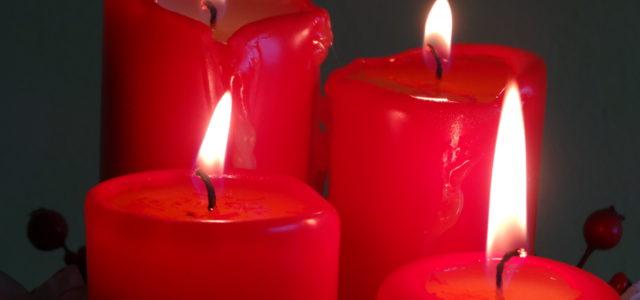 Adventní svíčky