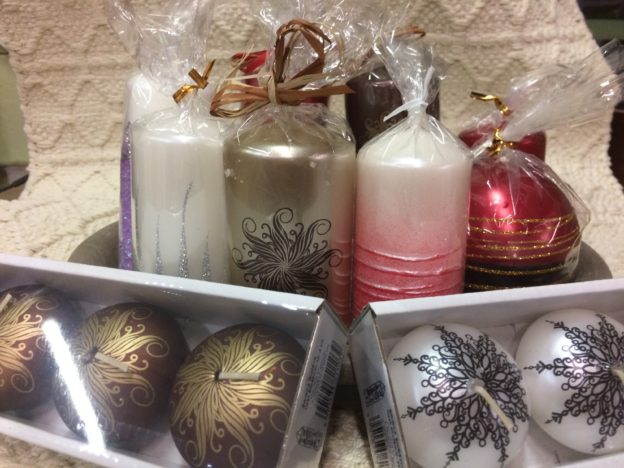 Mimořádná nabídka vánočních svíček se slevou 50 %